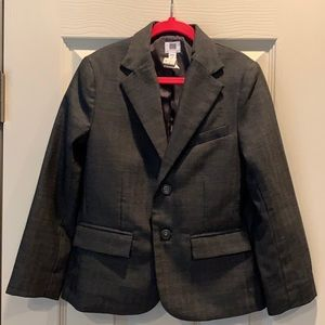 Bus Janie and Jack Charcoal Gray Suit, 6